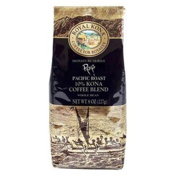 Royal Kona Roy's Medium Roast Whole Bean Coffee - 8oz