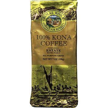 Royal Kona Ground Coffee, Estate Extra Fancy, Medium Roast, 0.44 Pound
