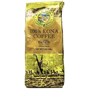 Royal Kona Whole Bean Coffee, Estate Extra Fancy, Medium Roast, 0.44 Pound [Estate Extra Fancy]