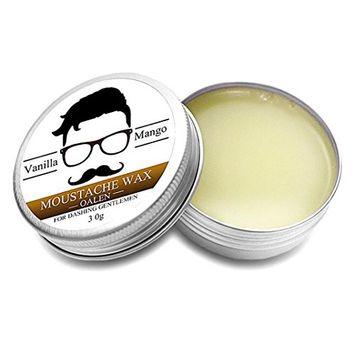 Lotus.flower OALEN Men Beard Balm Leave Moisturizing Care Cream Beard Care Lubricating Cream 30g