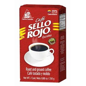 Sello Rojo Roast & Ground Coffee, 8.8-ounce Brick