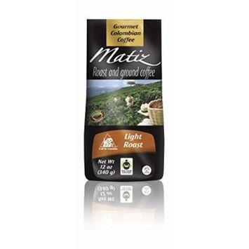Matiz Roast & Ground Coffee 12 Oz- Light Roast