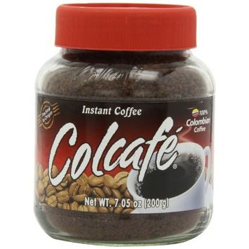 Colcafe Instant Coffee, 7.05-Ounce (Pack of 4)