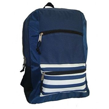 DD 600d Poly Backpack - Navy(pack Of 40)
