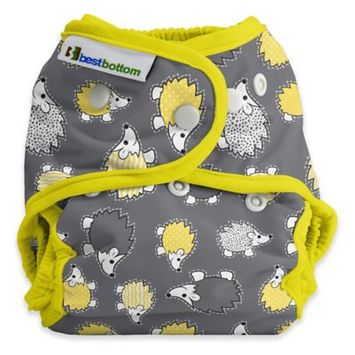 Best Bottom Diapers Best Bottom One-Size Diaper Shell - Snap Huckleberry Cubbler