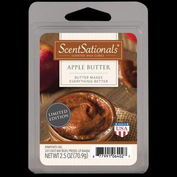 Rimports Inc. ScentSationals Scented Wax Cubes Apple Butter