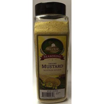 Hilltop Foods, Ground Mustard 16 OZ shaker