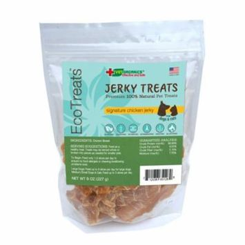 EcoTreats Signature Chicken Jerky Cat & Dog Treats, 8-oz Bag