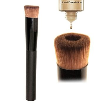 Usstore 1PC Makeup Brushes Multipurpose Tool Cosmetic Cream Powder Blush Foundation Eyeshadow Powder For Women Lady