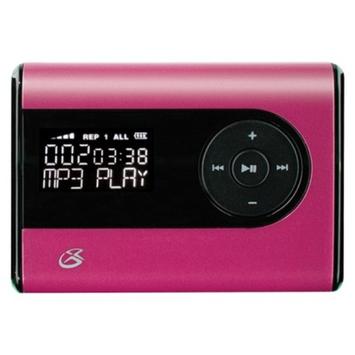 GPX 2GB Flash MP3 Player (MW240P) - Pink