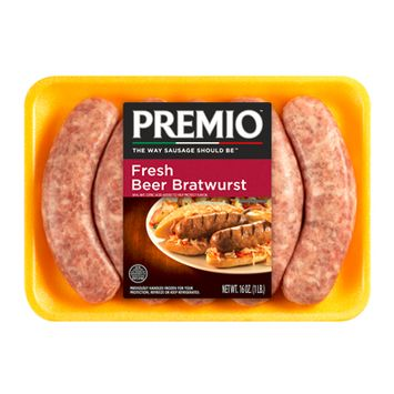 Premio™ Fresh Beer Bratwurst Sausage