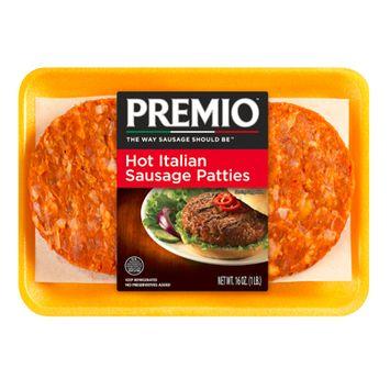 Premio™ Hot Italian Sausage Patties