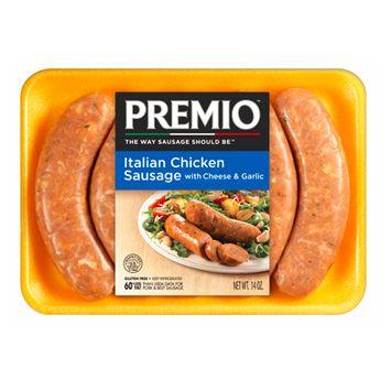 Premio Italian Chicken Sausage with Cheese & Garlic