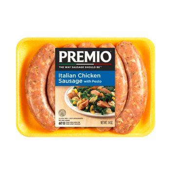 Premio Italian Chicken Sausage with Pesto