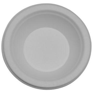 PrimeWare BL-12 Molded Fiber Heavy Disposable Bowl, White, 12-Ounce (Case of 1000)