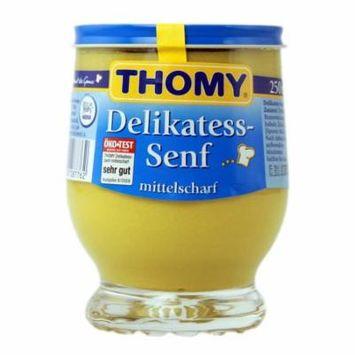 Thomy Delikatess-Senf, Mild Mustard, 250ml glass