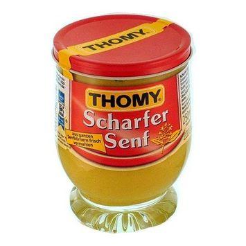 Thomy Hot Mustard in Jar (250 ml)