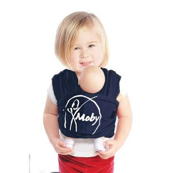 Mini Moby Doll Carrier - Navy