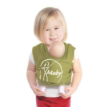 Mini Moby Doll Carrier - Olive