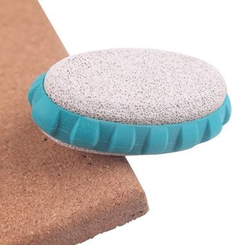 Aogo Pumice Stone Callus & Dry Dead Skin Remover Two-sided Oval Foot Stone - Personal Care Exfoliation for Feet, Hands, Soles, Toes