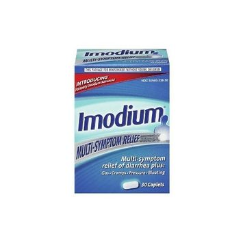 Imodium Multi-Symptom Relief of Diarrhea, 42+12 Caplets