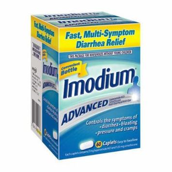 Imodium Advanced Multi-Symptom - Total: 60 Caplets (2 X 30 Caplets)