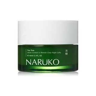 Naruko Tea Tree Shine Control and Blemish Clear Night Gelly