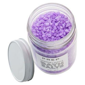 PREP Lavender and Vanilla Bath Salts - 14oz