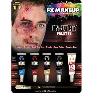Tinsley Fx Colour Make Up Kits - Injury/Bruise Palette
