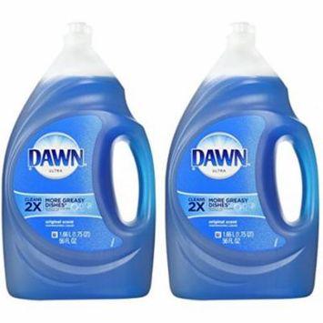 Dawn Ultra Dishwashing Liquid, Original Scent, 56 Ounce - 2 Pack
