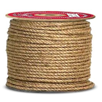 Continental Western Corporation CWC 3-Strand PACIFIC Manila Rope - 3/8' x 1200 ft.