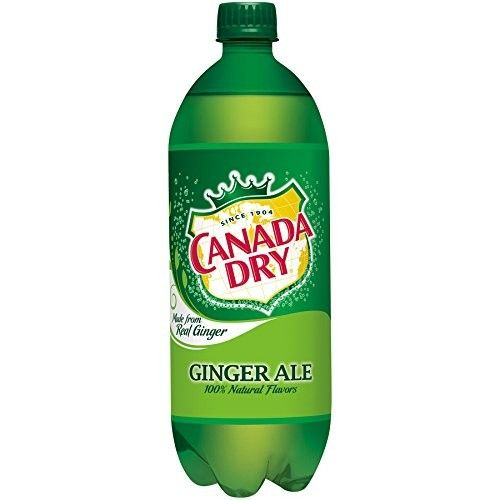 Canada Dry Ginger Ale 1 Liter - Pack Of 12 [Ginger Ale]