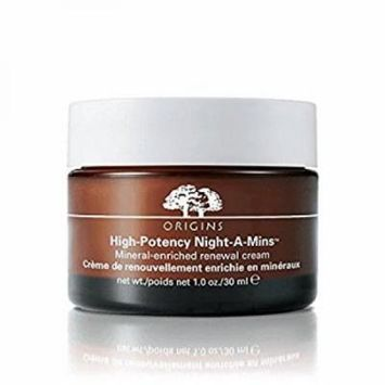 Origins High-Potency Night-A-Mins Mineral-enriched renewal cream 1 oz / 30 ml - Deluxe Travel Size - No Box