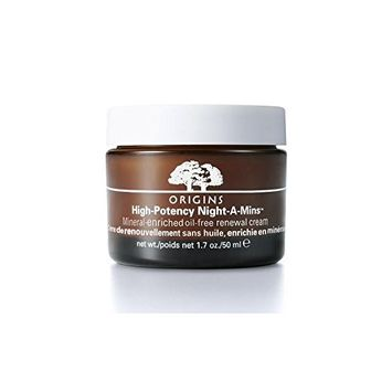 Origins High Potency Night-A-Mins Mineral-Enriched Oil-Free Renewal Cream 50ml (Pack of 4)