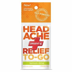 Slide: UrgentRx® Headache Relief to Go Powders