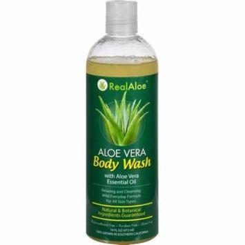 Real Aloe Body Wash - Aloe Vera - 16 Fl Oz