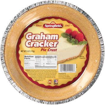 Springfield® Graham Cracker Pie Crust