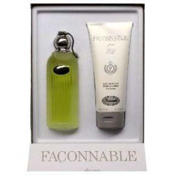Faconnable By Faconnable 2 Piece Set : 3.4 Oz EDT Spray + 6.7 Ozperfumed Body Lotion