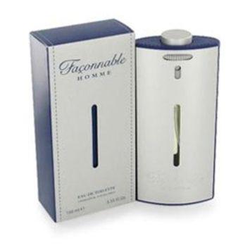 Faconnable Homme for Men Gift Set - 3.3 oz EDT Spray + 2.5 oz Deodorant Stick
