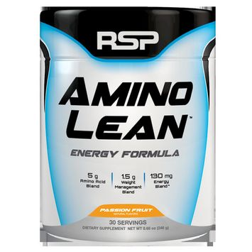 RSP Nutrition AminoLean Pre Workout, Fat Burner, Weight Loss, Amino Energy, Passion Fruit, 30s [flavor: flavor-passionfruit]