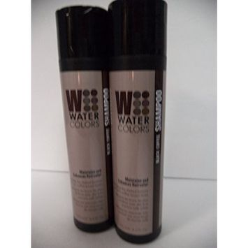 Tressa Watercolors Black Coffee Shampoo Duo Set 8.5 oz NEW PACKAGING! by Tressa