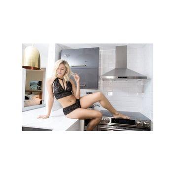 Oh La La Cheri OLL-10-10636 ODETTE Bralette Nude/Black / M