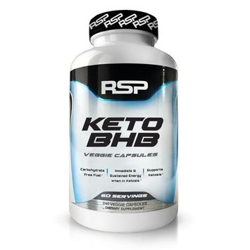 RSP Keto BHB - Exogenous Ketones 2400mg goBHB (60 Day Supply), Support Ketosis, Boost Energy, Enhance Focus, Perfect Keto Weight Management Capsules, Beta-Hydroxybutyrate BHB Salts