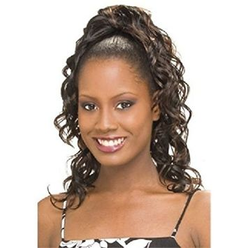 SONATA GIRL (2 Dark Brown) - Model Model Glance Synthetic Hair Drawstring Ponytail