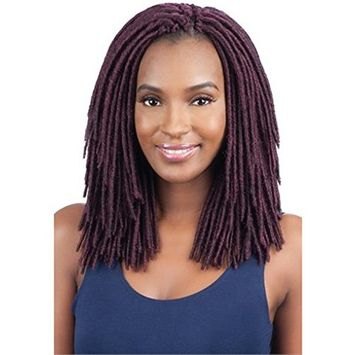 2X MEDIUM SOFT FAUX LOC 10