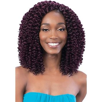 SPIRAL WAND CURL (4 Medium Brown) - Model Model Glance 2X Wand Curl Synthetic Braid