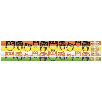 Musgrave Pencil MUS2520DBN Owl Motivational Pencils - 12 Dozen - 12 per Pack