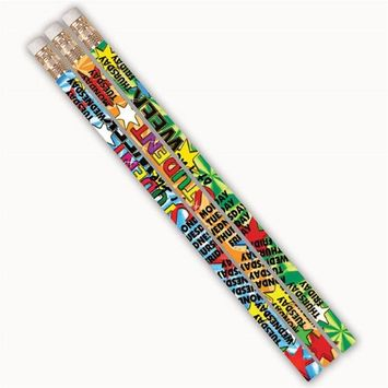Musgrave Pencil MUS1383DBN Student of The Week Pizzazz Pencils - 12 Dozen - 12 per Pack