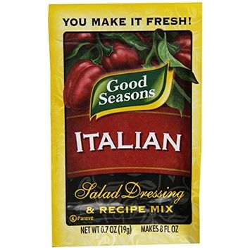 Good Seasons Italian Vinegar (0.7oz Packets, Pack of 12)