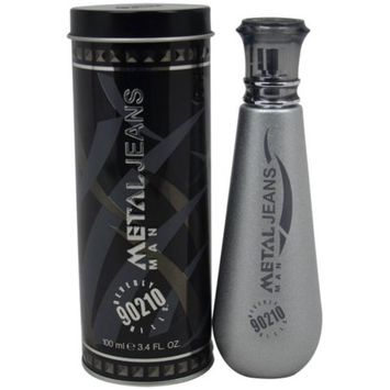 Beverly Hills 90210 Metal Jeans By EDT SPRAY 3.4 OZ